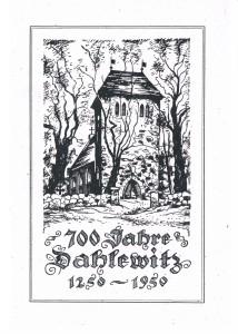 Deckblatt Festschrift 1950