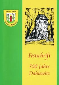 Deckblatt Festschrift 2005